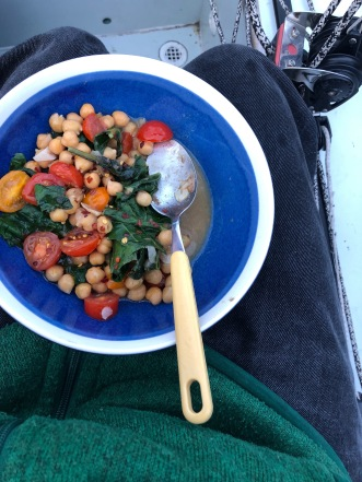 chickpeas tomato anchovy