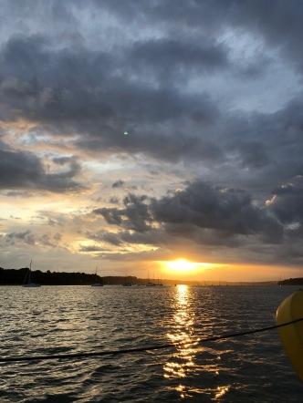 sunset orwell