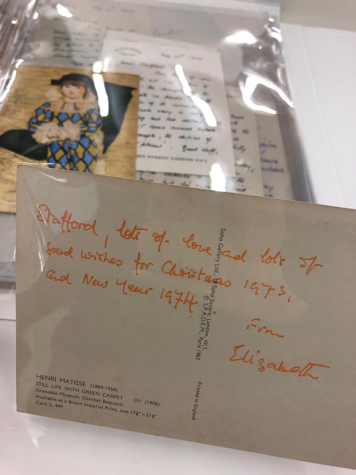 elizabeth david postcard 2